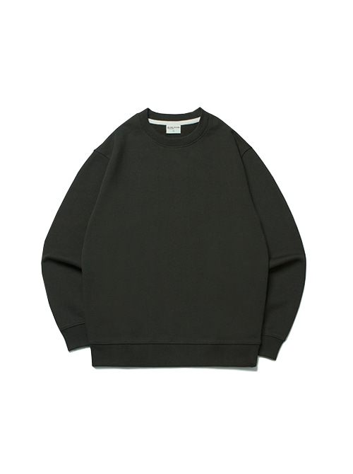 DAILY FIT SWEAT SHIRT_FOREST GREEN