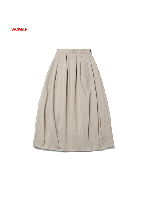 FRESH BALLOON SKIRT(for WOMAN)_BEIGE