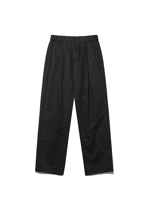 FINE DAY COTTON SLACKS_BLACK