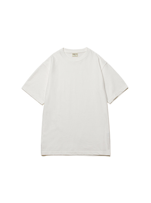 [4/20 예약배송]CONVINCE COTTON HALF TEE_OFF WHITE
